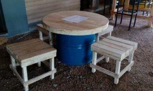 Réaménagement du Café Lounge «No Stress» à Pereybere
