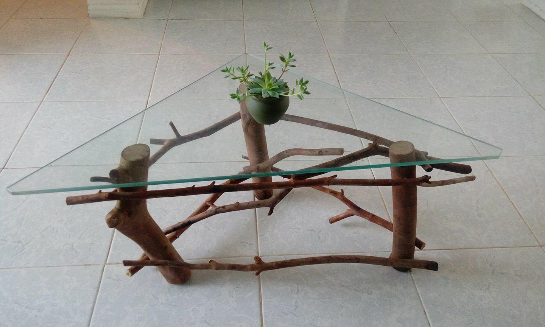 Table en bois de goyavier
